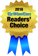 2018 The Wilson Times Reader's Choice - 1st Place